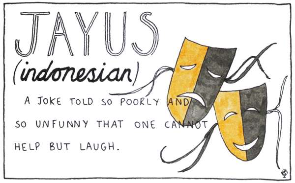 Untranslatable Word Illustrations