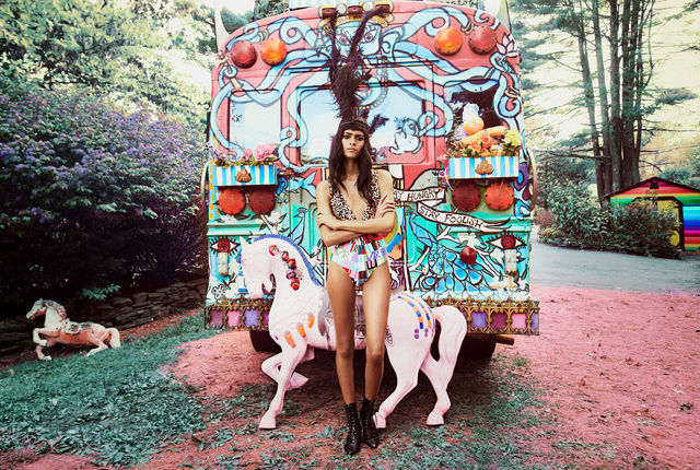 Psychedelic Swimsuit Collections