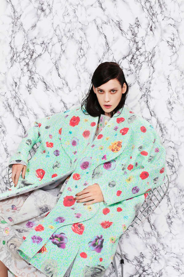 Eccentrically Oversized Outerwear Editorials