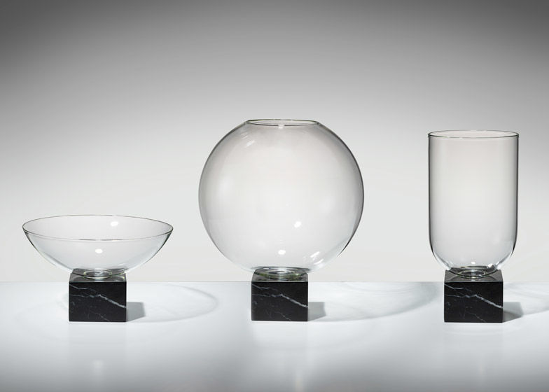 Minimal Glass Marble Vases Marble Vases