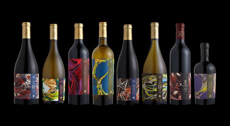 Marbled Wine Branding