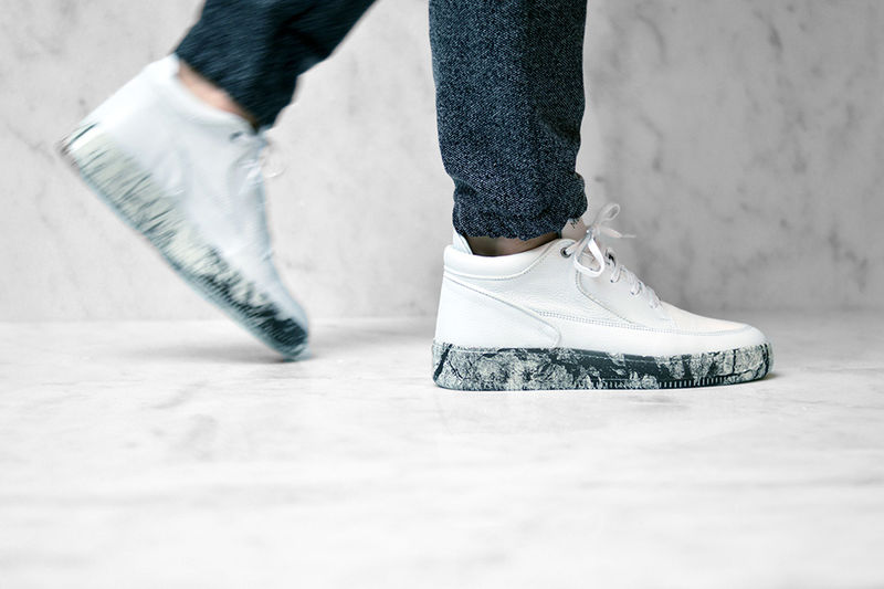 Marble-Inspired Sneakers