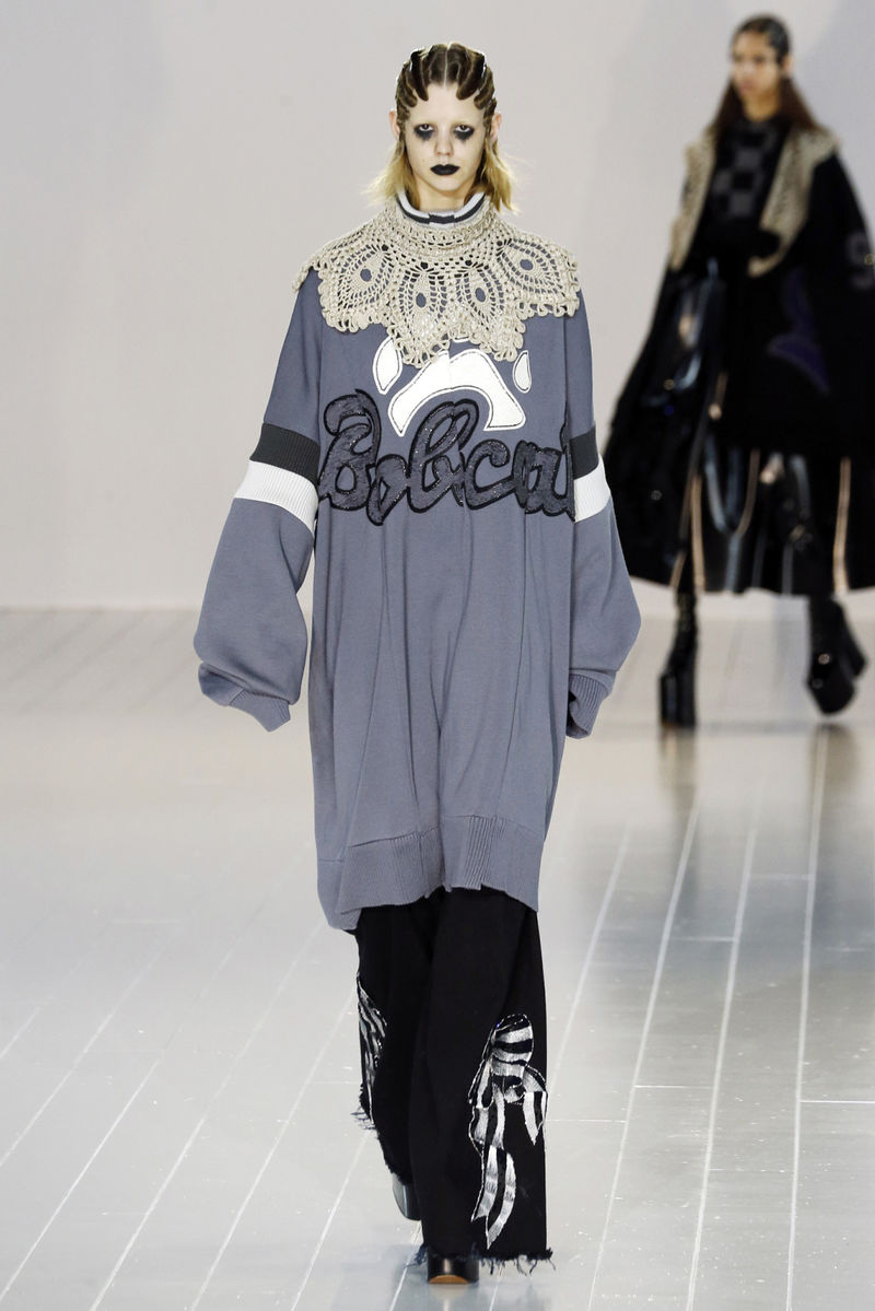 Multifaceted Goth Couture