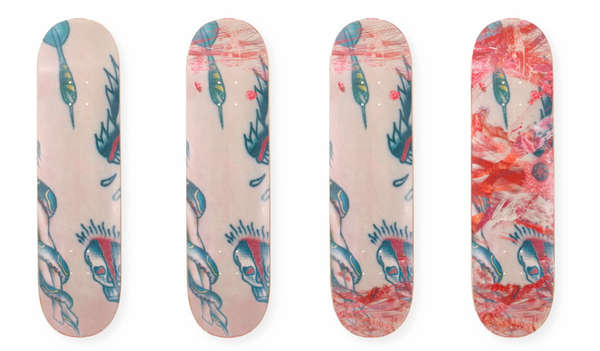 Scratch-Designed Skateboards