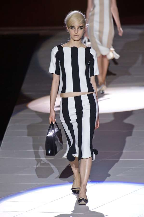 Posh Pinstriped Frocks