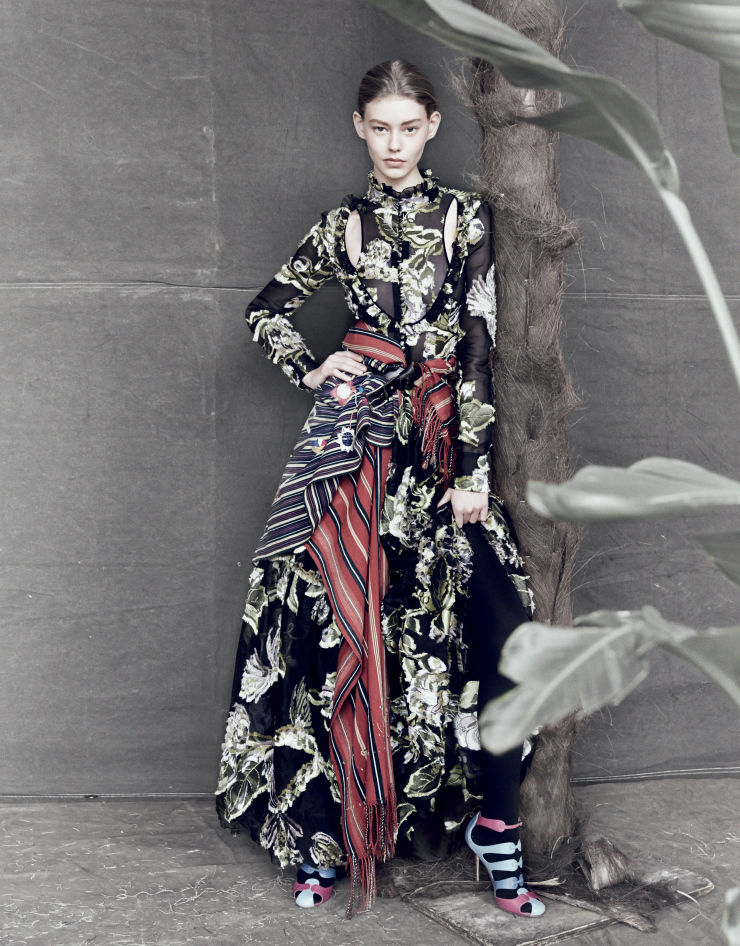 Layered Floral Editorials