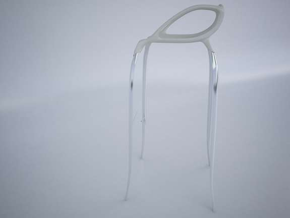 Super-Slender Spider Chairs