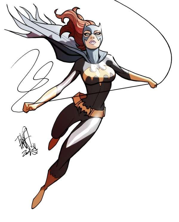 Shapely Female Superhero Portraits