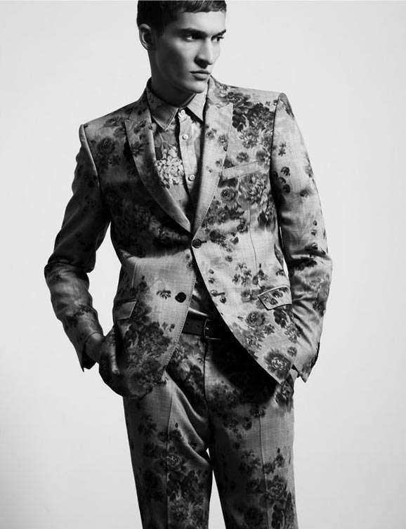 Wallpaper-Inspired Menswear