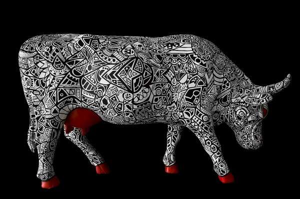Brilliant Bovine Art