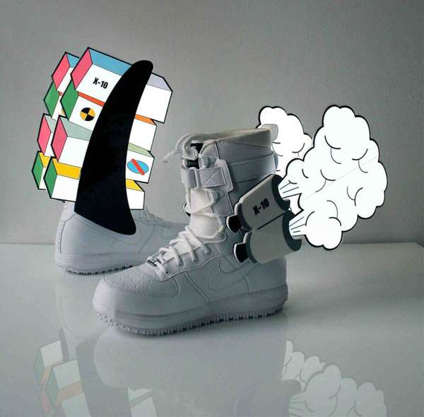 Customized Sneaker Art