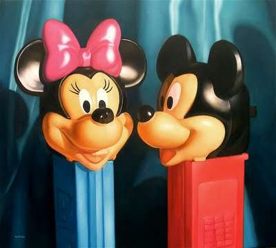 Hyperrealistic Toy Paintings