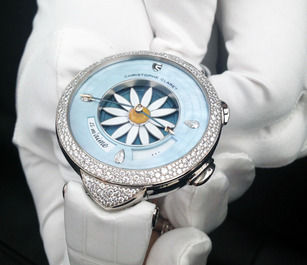 Luxury Floral Timepieces