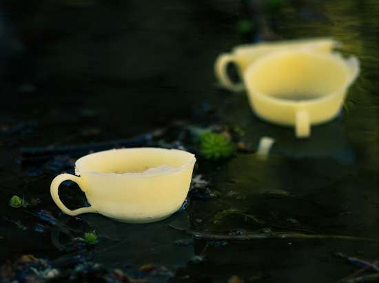 Beeswax Teacups