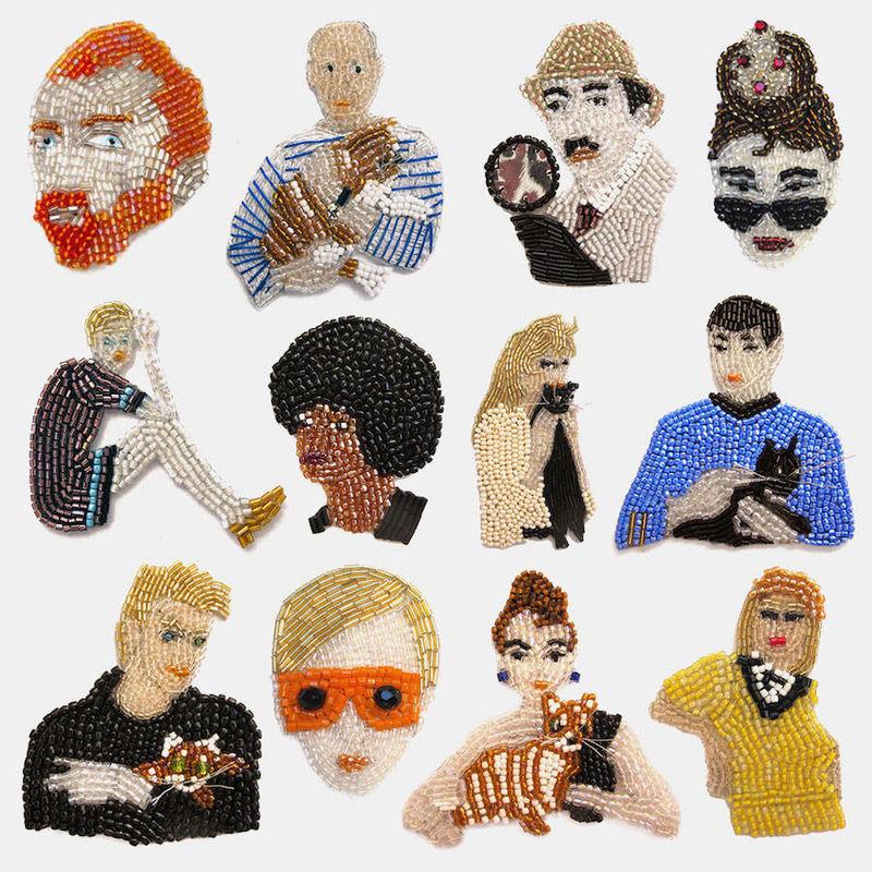 Celebrity Pin Accessories