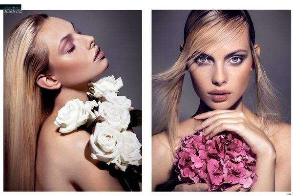Spring Floral Beauty Editorials