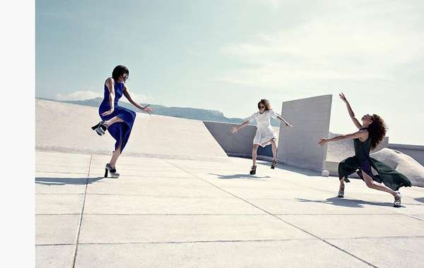 Rooftop Dancing Editorials