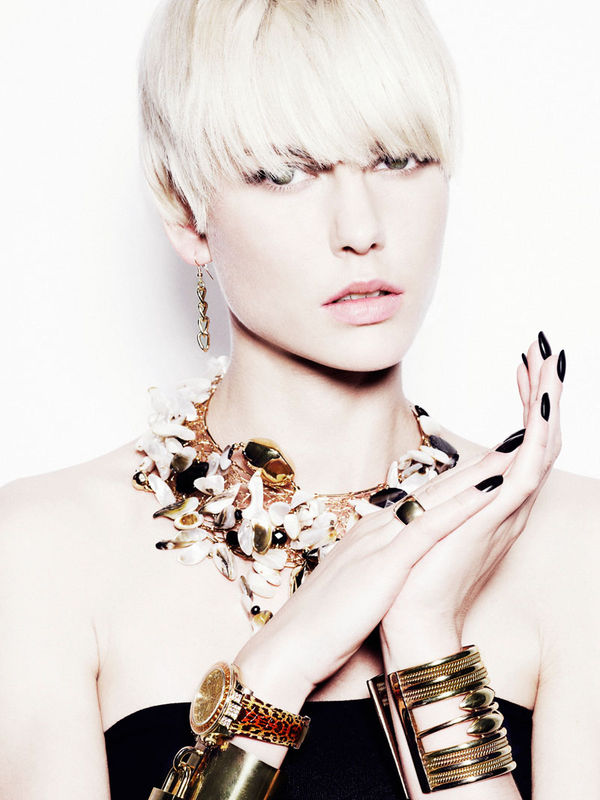 Edgy Jewelry Editorials