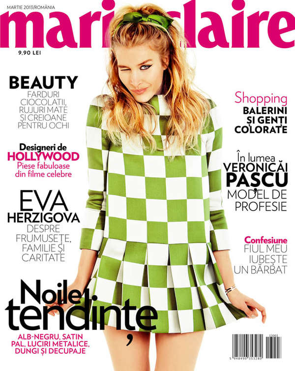 Marie Claire Romania 'Sah Mat!'