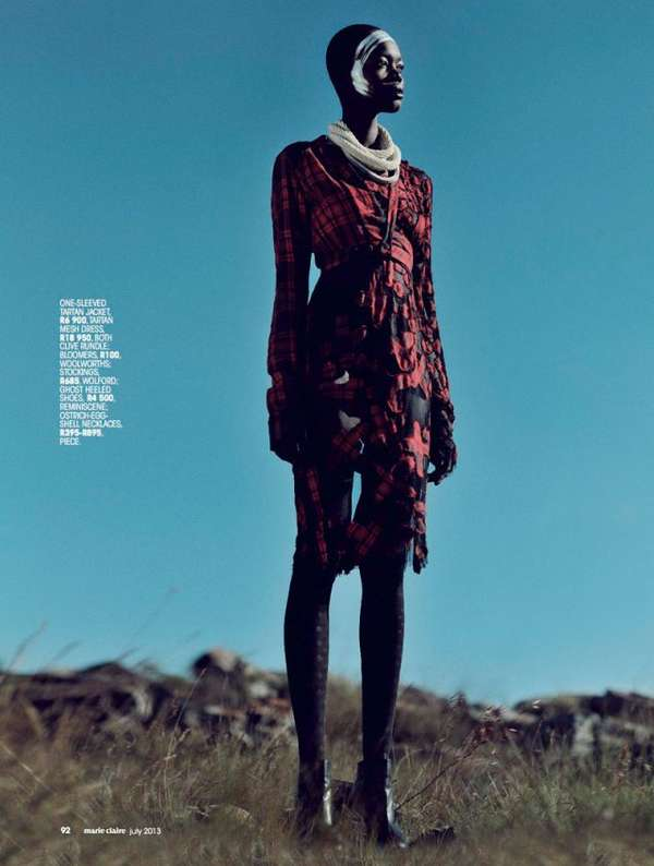 Marie Claire South Africa 'Highlander'