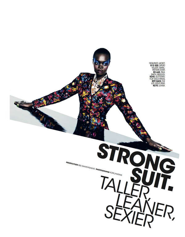 Marie Claire South Africa 'Strong Suit'