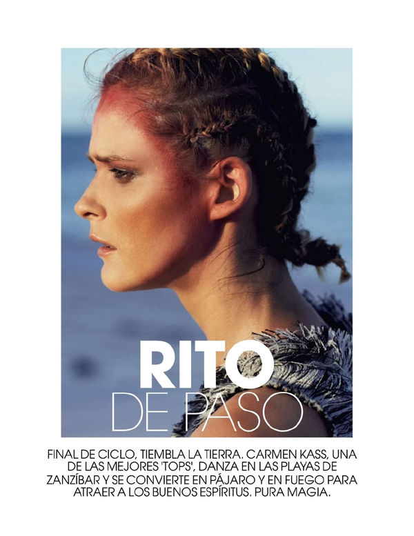 Tribal Cornrow Editorials