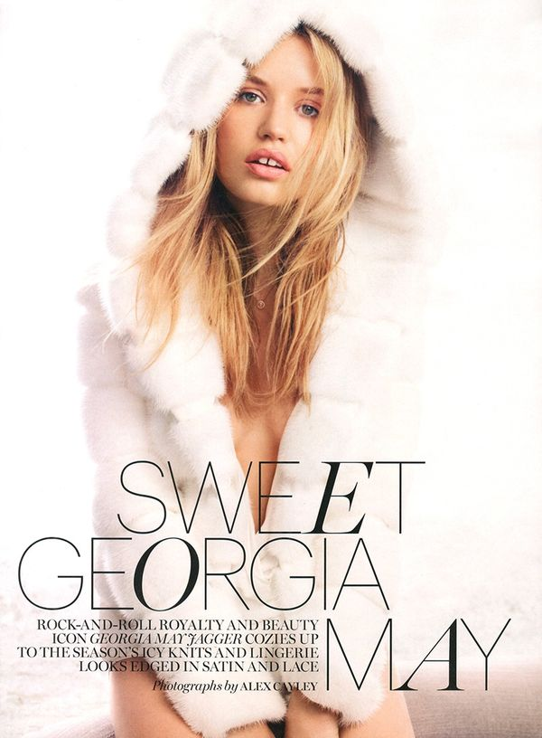Marie Claire 'Sweet Georgia May'