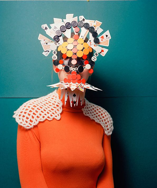 Extravagant Mask Photography