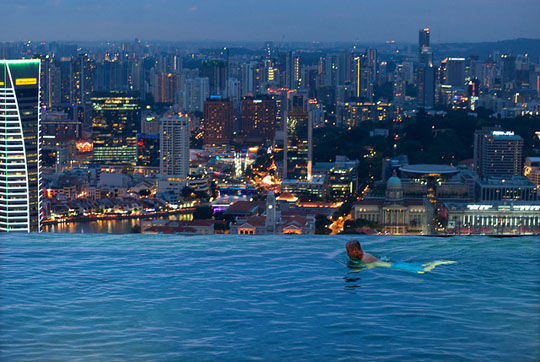 Cityscape Infinity Pools