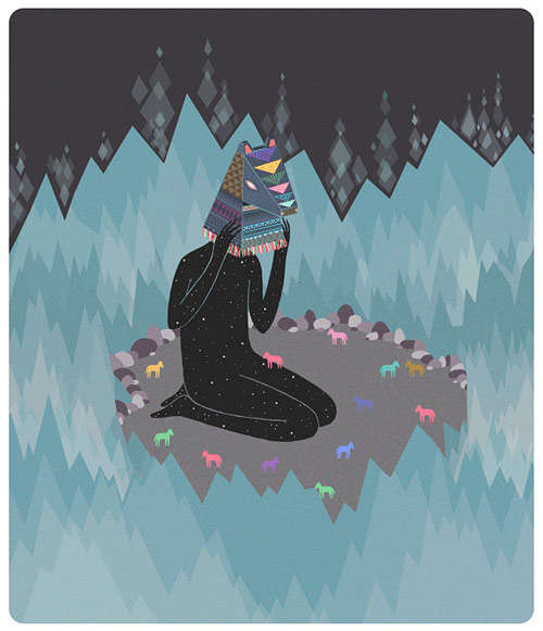 Quirky Meditation Illustrations