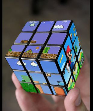 Video Game Rubiks Cubes