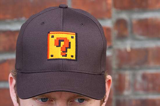 Mario Question Block Hat