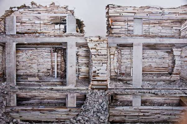 Eviscerated Architecture Art