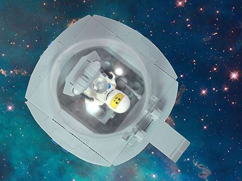 Intergalactic LEGO Alphabets