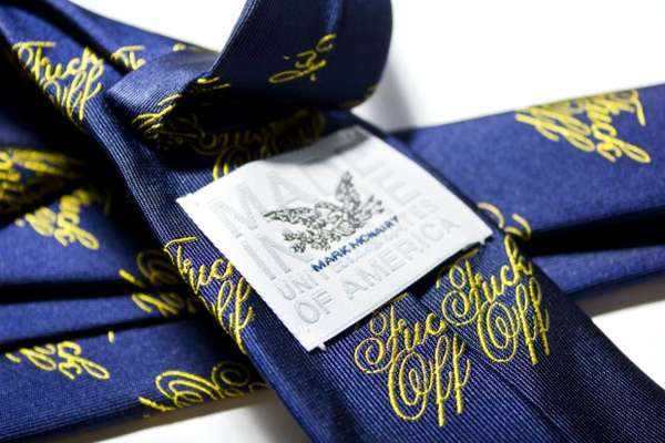 Mark McNairy F Off Tie & Bowtie