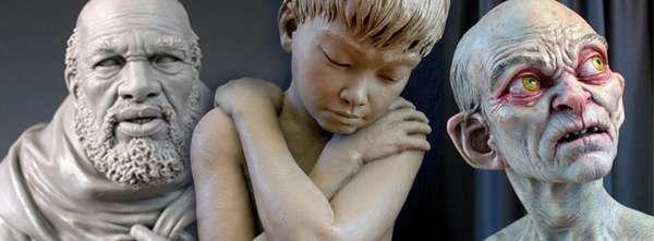 Hyper-Realist Fantasy Sculptures