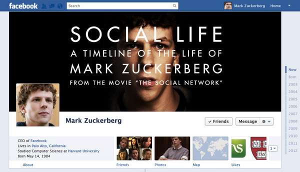 Facebook Founder Timelines
