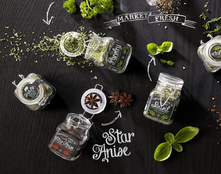 Chalkboard Spice Labels