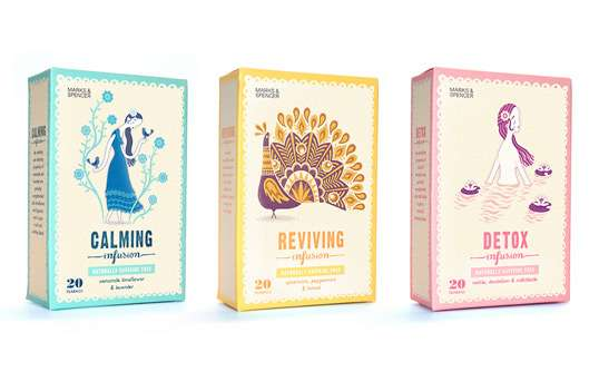 Vintage Herbal Packaging