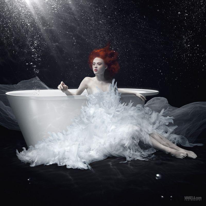 Ethereal Bathub Ads