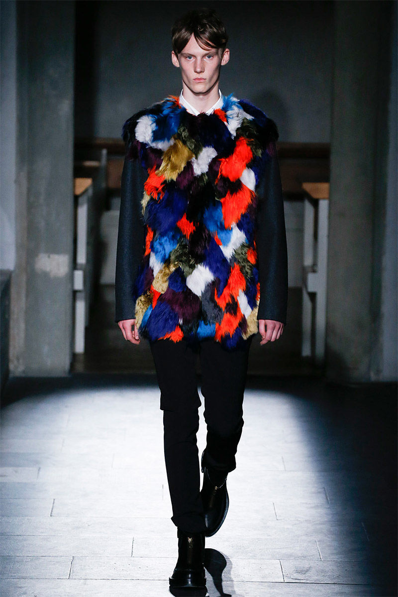 Patterned Fur Menswear