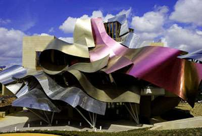 Marqus de Riscal Hotel by Frank Gehry
