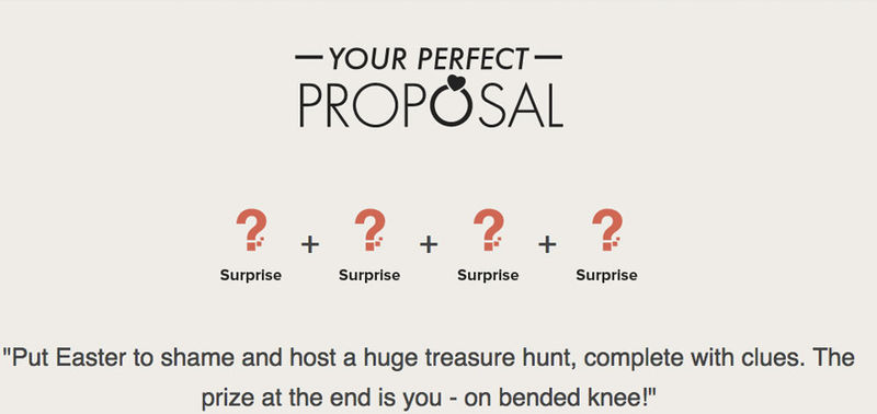 Marriage Proposal Generators
