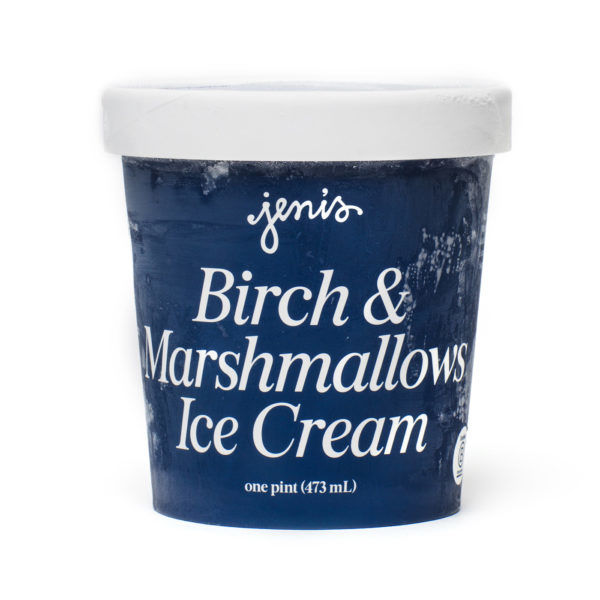 Wintergreen Marshmallow Ice Creams
