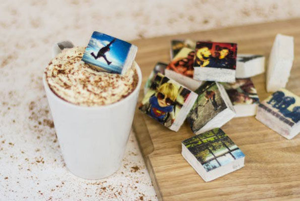 Edible Social Media Marshmallows