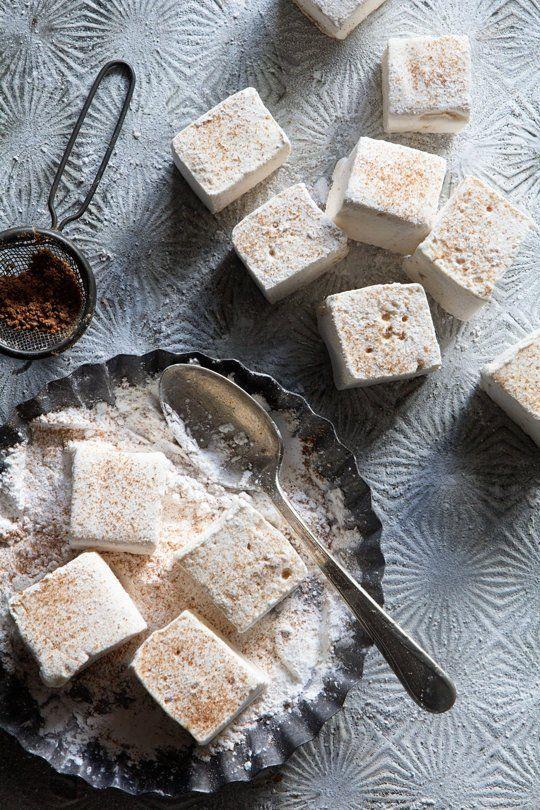 Eggnog-Flavored Marshmallows
