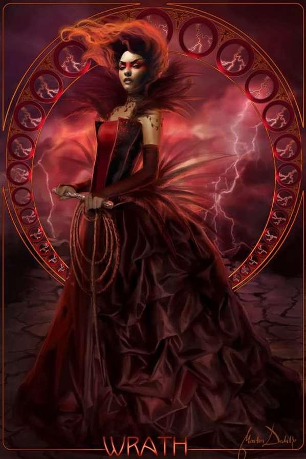 Deadly Sins Artwork