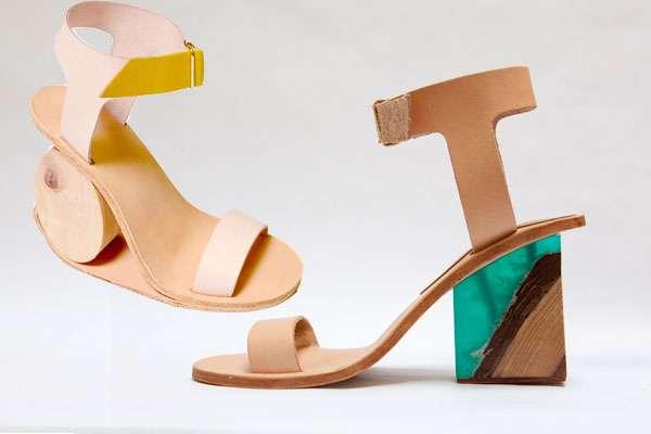 Quirkily Heeled Footwear