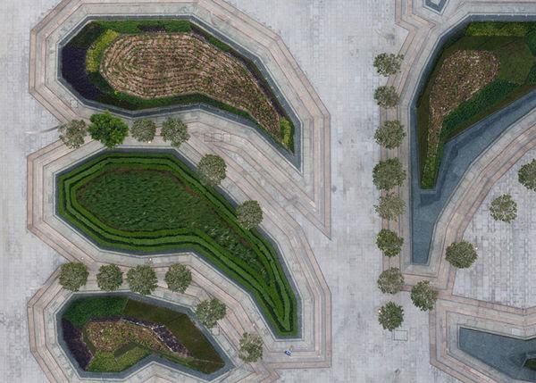 Tear Shaped Landscaping Martha Schwartz