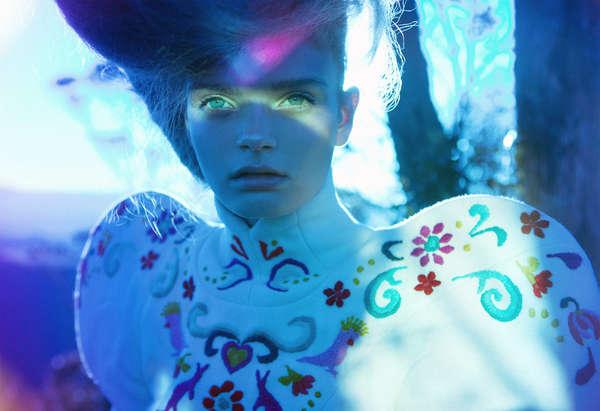Psychedelic Fantasy Photoshoots
